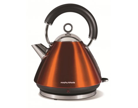 Morphy Richards 43778 Accents Copper Traditional Kettle - 1.5L