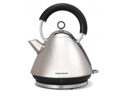 Morphy Richards 43825 Accents Polished Traditional Kettle - 1.5L