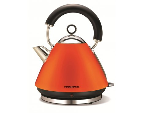 Morphy Richards 43828 Accents Orange Traditional Kettle - 1.5L