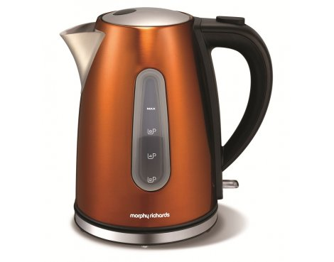 Morphy Richards 102601 Accents Copper Jug Kettle - 1.7L
