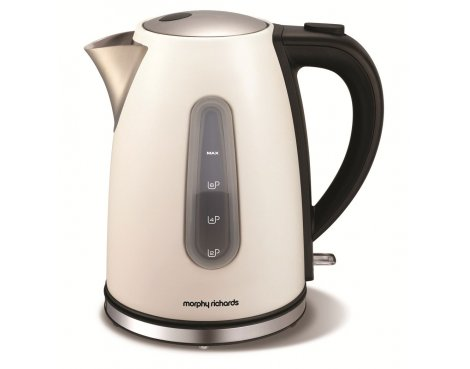 Morphy Richards 102602 Accents White Jug Kettle - 1.7L
