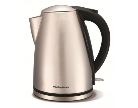 Morphy Richards 43615 Brushed Stainless Steel Jug Kettle - 1.7L