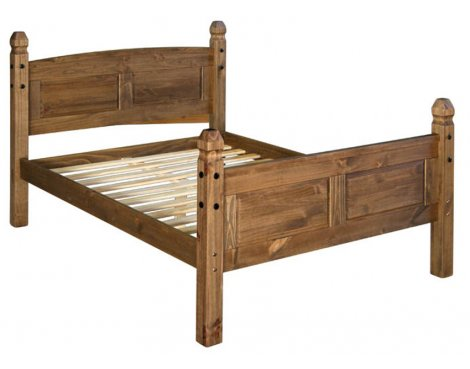Core Products CR500 Classic Corona King Size Bed Frame - Rustic Pine