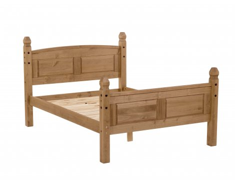 Core Products CR460 Classic Corona Double Bed Frame - Rustic Pine