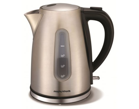 Morphy Richards 43902 Accents Brushed Jug Kettle - 1.5L