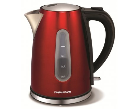 Morphy Richards 43904 Accents Red Jug Kettle - 1.5L