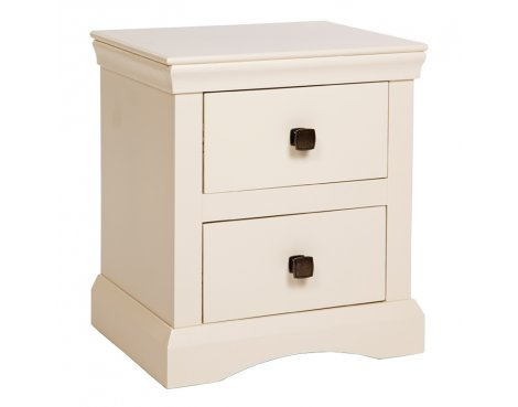 Core Products Quebec 2 Drawer Bedside Table