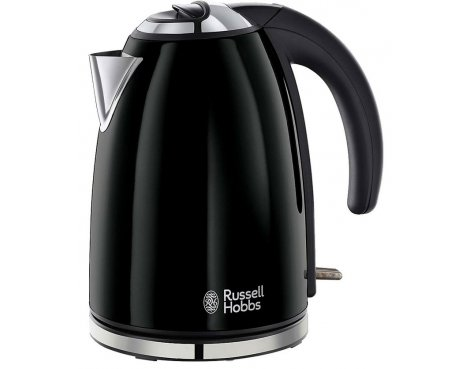 Russell Hobbs 18946 Colours Black Kettle - 1.7L