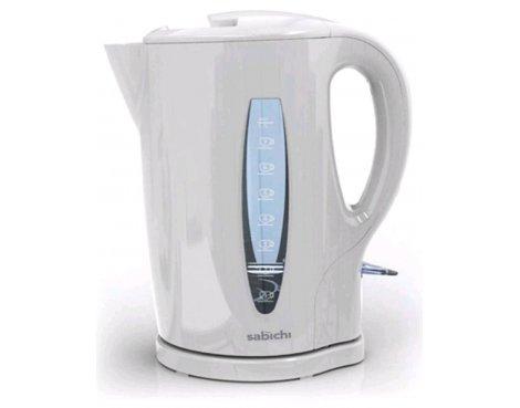 Sabichi 110411 Gloss White Jug Kettle - 1.7L
