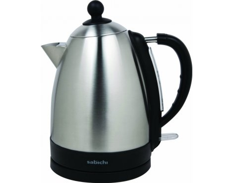 Sabichi 110466 Brushed Stainless Steel Jug Kettle - 1.7L