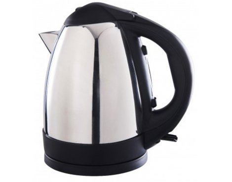 Sabichi 110985 Polished Stainless Steel Jug Kettle - 1.7L
