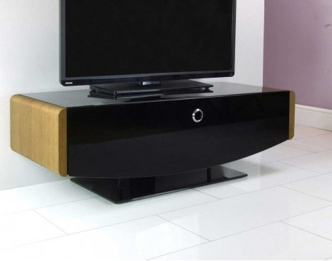 MDA Designs Orion Oak TV Stand For Up To 50 TVs EBay