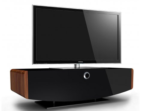 """MDA Designs Orion Walnut TV Stand for up to 50\"""" TVs"""