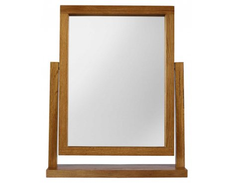 Rustic Grange Santana Rustic Oak Dressing Table Mirror