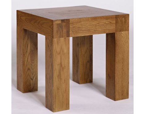 Rustic Grange Santana Rustic Oak Lamp Table