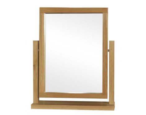 Rustic Grange Santana Blonde Oak Dressing Table Mirror