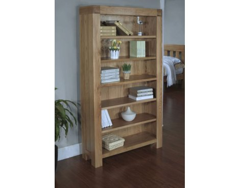 Rustic Grange Santana Blonde Oak Full Bookcase