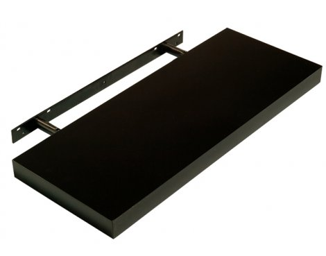 Core HDG900BK Hudson Gloss Black Floating Shelf 900mm