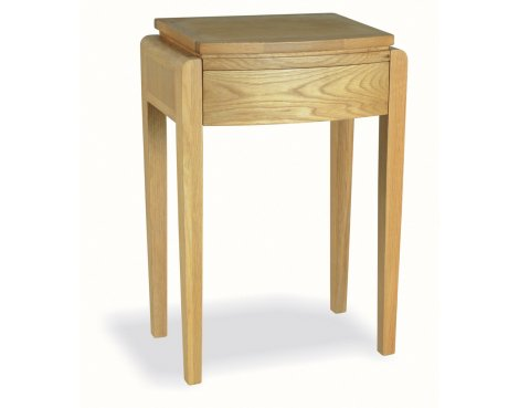 Ultimum Alnwick Oak UA04 Tall Lamp Table
