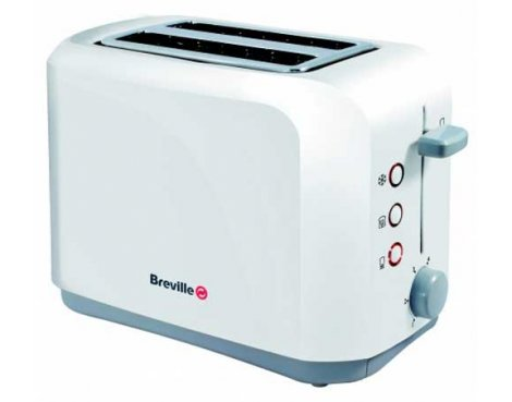 Breville VTT222 Plastic 2 Slice Toaster - White