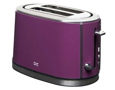 Daewoo DST2A3P Purple Toaster