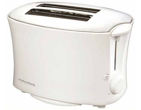 Morphy Richards 44165 Essentials White Toaster