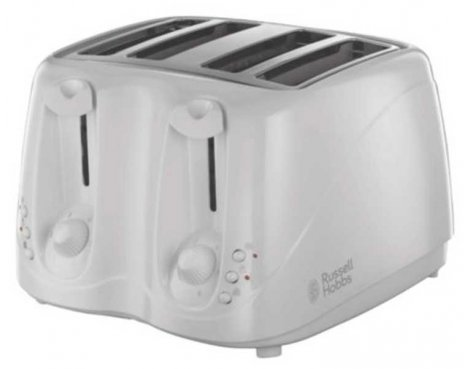 Russell Hobbs 13899 Compact White Toaster