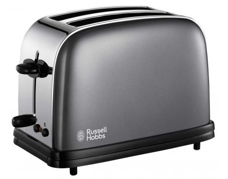 Russell Hobbs 18954 Colours Grey Toaster