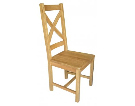 Ultimum Oxford Oak Cross Back Dining Chair