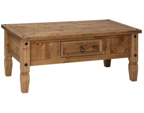 Core Products CR902 Classic Corona Coffee Table - Rustic Pine