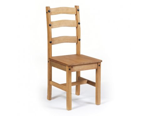 Core Products CR107 Classic Corona Dining Chairs - Rustic Pine