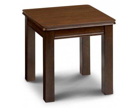 Julian Bowen Canterbury Mahogany Lamp Table