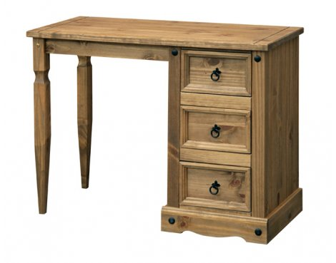 Core Products CR518 Classic Corona Dressing Table - Rustic Pine