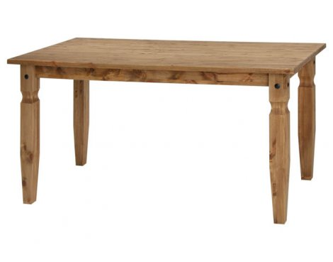 Core Products CR801 Classic Corona Large Rectangle Dining Table - Rustic Pine