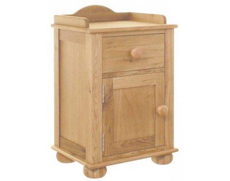 Baumhaus Amelie Oak CCO10A Bedside Cabinet