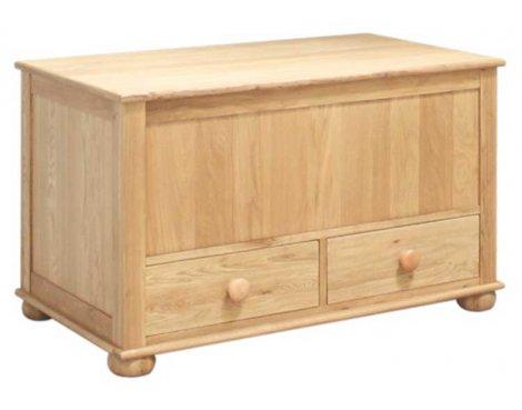 Baumhaus Amelie Oak CCO15A Blanket Box