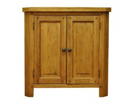 Ultimum Highfield Oak Corner Cabinet