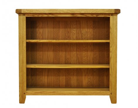 Ultimum Highfield Small Wide Oak Bookcase