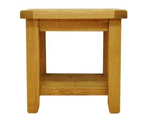 Ultimum Highfield Solid Oak Lamp Table