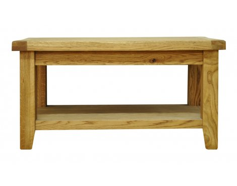 Ultimum Highfield Solid Oak Coffee Table