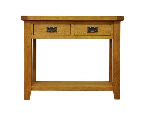Ultimum Highfield Solid Oak Console Table