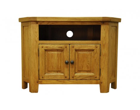 Ultimum Highfield Oak Corner TV Stand