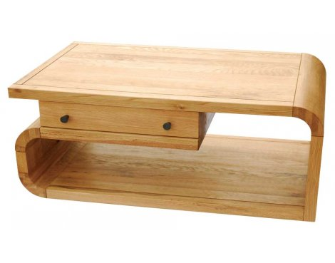 Ultimum Durham Oak UD14A Medium Coffee Table