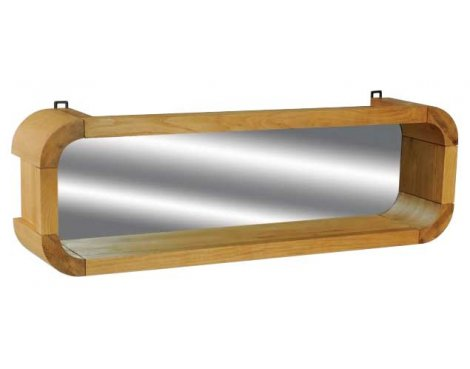 Ultimum Durham Oak UD52 Resized Mirror Shelf