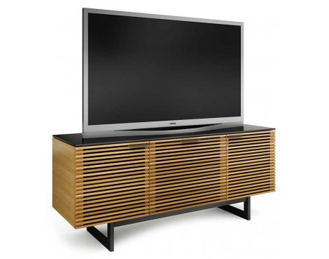 BDI Corridor 8177 White Oak TV Stand