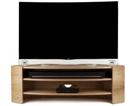Tom Schneider Elliptic 1400 Oak TV Stand