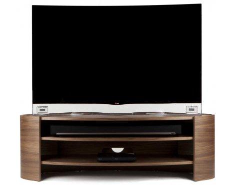 Tom Schneider Elliptic 1400 Walnut TV Stand