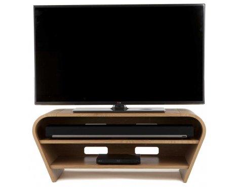 Tom Schneider Taper 1050 Oak TV Stand
