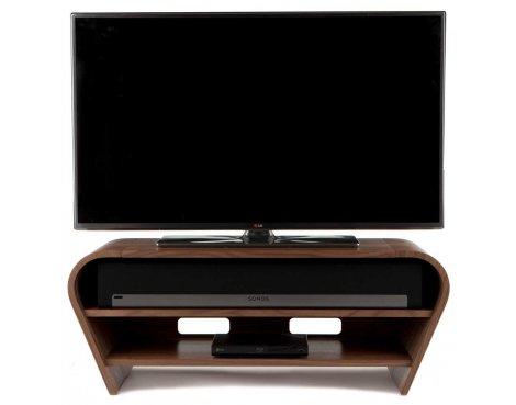 Tom Schneider Taper 1050 Walnut TV Stand