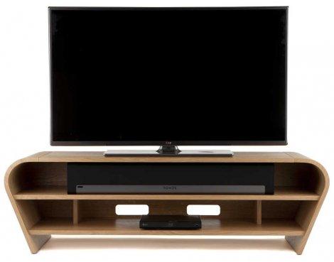 Tom Schneider Taper 1400 Oak TV Stand